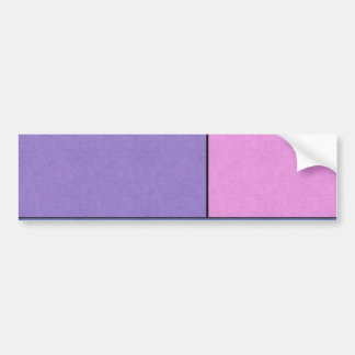 Campos de color geométricos modernos del arte abst pegatina de parachoque