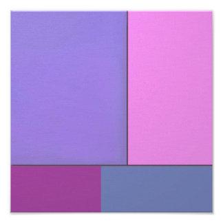 Campos de color geométricos modernos del arte abst fotografías