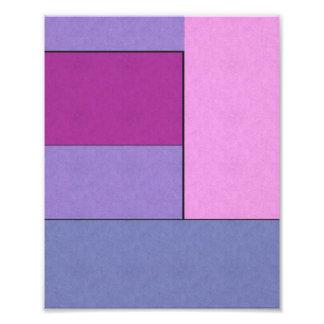 Campos de color geométricos modernos del arte abst foto