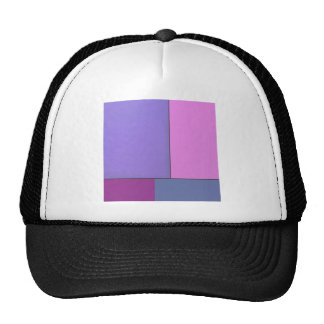 Campos de color geométricos modernos del arte abst gorra