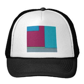 Campos de color geométricos modernos del arte abst gorras