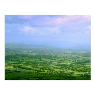 Campos de Irlanda Tarjetas Postales
