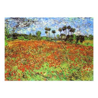 Campos de la amapola de Vincent van Gogh Comunicado Personal