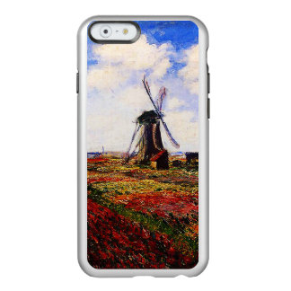 Campos de los Monet-Tulipanes de Claude Funda Para iPhone 6 Plus Incipio Feather Shine