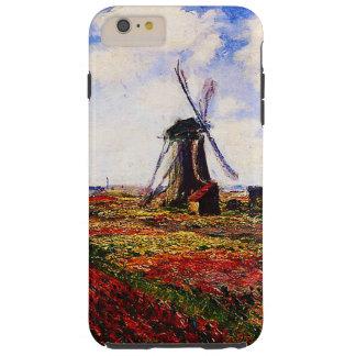 Campos de los Monet-Tulipanes de Claude Funda Resistente iPhone 6 Plus
