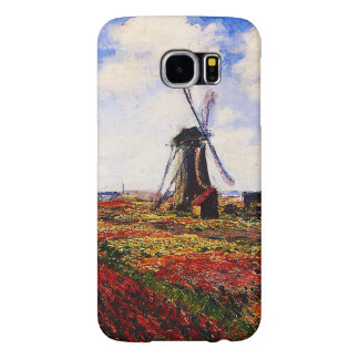 Campos de los Monet-Tulipanes de Claude Funda Samsung Galaxy S6