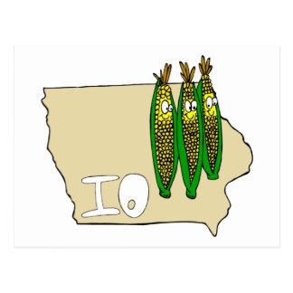 Campos de maíz de Iowa Postal