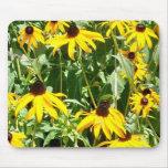 Campos de Mousepad amarillo