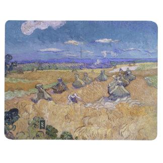 Campos de trigo con el segador de Vincent van Gogh Cuadernos