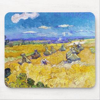Campos de trigo con el segador Van Gogh Vincent Alfombrilla De Ratón