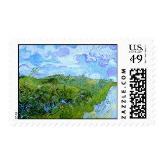 Campos de trigo verdes de Van Gogh (F807) Envio