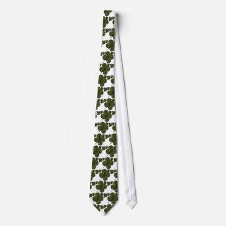 Campos del trébol corbatas