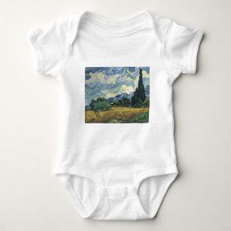Campos del trigo de Vincent van Gogh con los Mameluco De Bebé