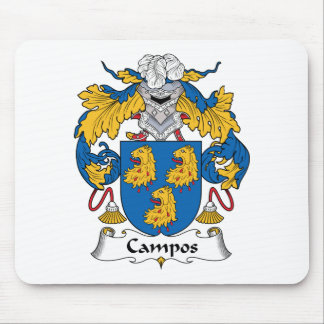 Campos Family Crest Mouse Pad