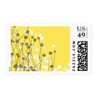 Campos - gris y amarillo sello