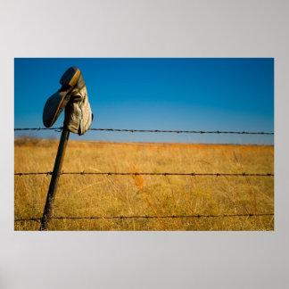 Campos solos póster