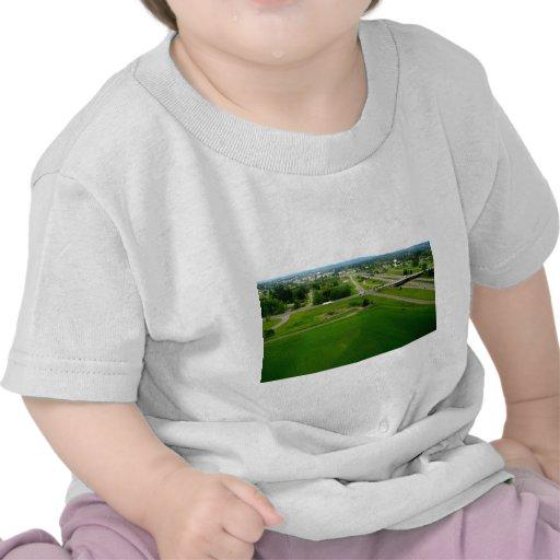 Campos verdes camiseta