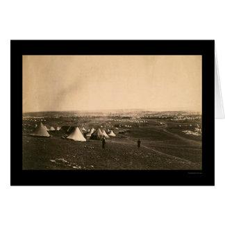 Campos y la brigada ligera 1855 de la guerra crime felicitación