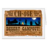Campout del desierto CH-46 Felicitaciones