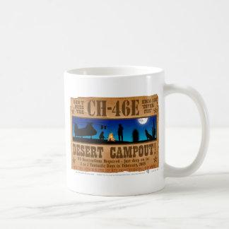 Campout del desierto CH-46 Taza De Café