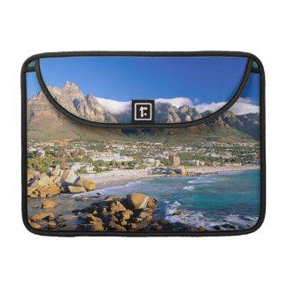 Camps Bay Beach And The Twelve Apostles Range MacBook Pro Sleeve
