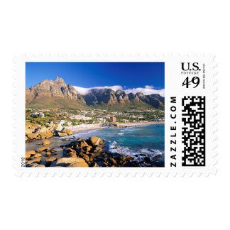 Camps Bay Beach And The Twelve Apostles Range Postage