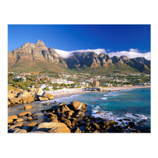 Camps Bay Beach And The Twelve Apostles Range Postcard