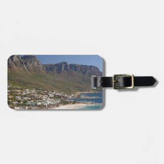 Camps Bay Beach And Twelve Apostles Luggage Tag