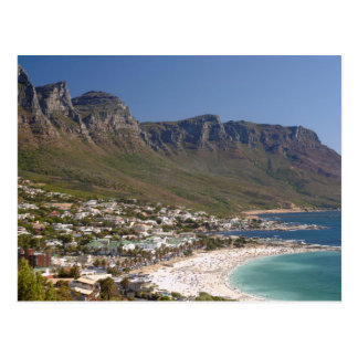 Camps Bay Beach And Twelve Apostles Postcard