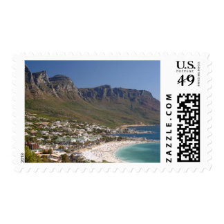 Camps Bay Beach And Twelve Apostles Stamp