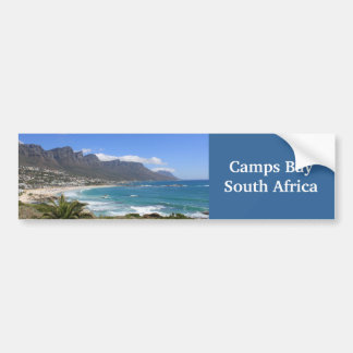 Camps Bay Beach, South Africa Bumper Sticker