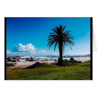 """Camps Bay South Africa"" JTG Art Greeting Card"