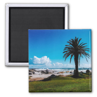 """Camps Bay South Africa"" JTG Art Magnet"