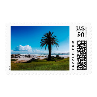 """Camps Bay South Africa"" JTG Art Postage Stamp"