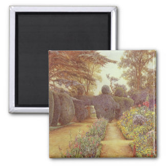Campsea Ashe, Suffolk by Ernest Arthur Rowe 2 Inch Square Magnet