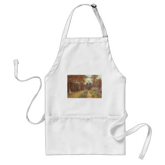 Campsea Ashe, Suffolk by Ernest Arthur Rowe Adult Apron