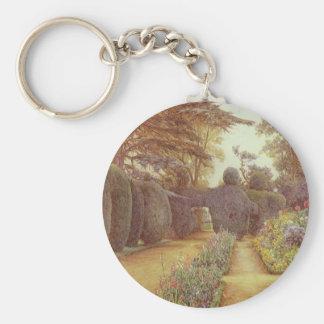 Campsea Ashe, Suffolk by Ernest Arthur Rowe Basic Round Button Keychain
