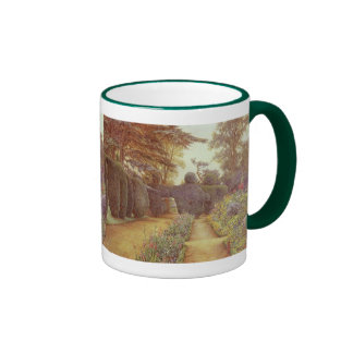 Campsea Ashe Suffolk by Ernest Arthur Rowe Mugs
