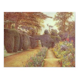 """Campsea Ashe, Suffolk de Ernesto Arturo Rowe Invitación 4.25"""" X 5.5"""""""