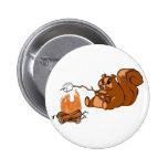 Campsite Beaver Pin