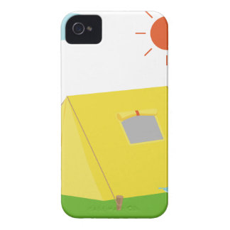 Campsite Cartoon Case-Mate iPhone 4 Case