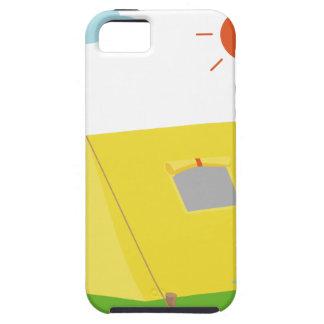 Campsite Cartoon iPhone SE/5/5s Case