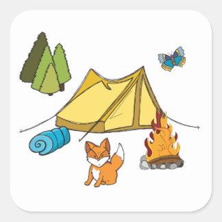 Campsite Sticker