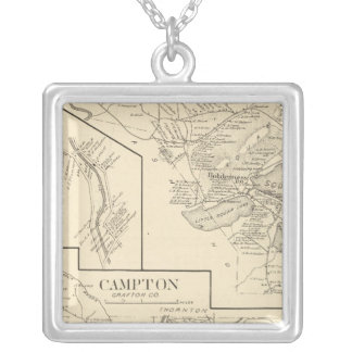 Campton, Holderness Silver Plated Necklace