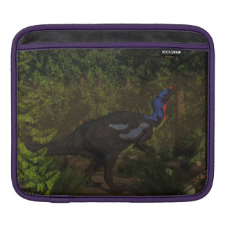 Camptosaurus dinosaur eating - 3D render iPad Sleeve