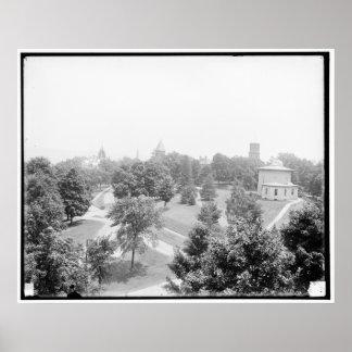 Campus, Amherst College, Amherst, Mass. c1905 Poster