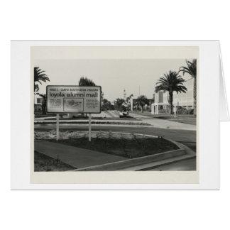 Campus Beautification (1971) de la alameda de los Tarjeta De Felicitación