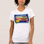 Campus Brand Lemons ~ Vintage Fruit Crate Label Shirts