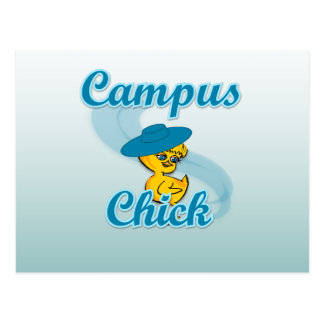 Campus Chick 3 Post Card