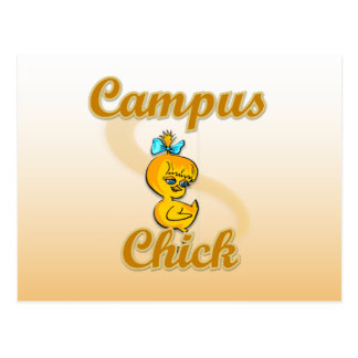 Campus Chick Post Cards